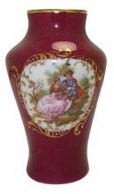 Porcelain Limoges France Vase #35924v2