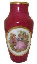 Porcelain Limoges France Vase #35923v2