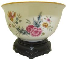 1981 American Avon Heirloom Bowl With Base #35900v2