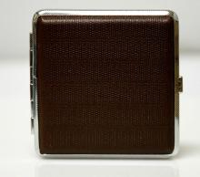 ELEGANT DESIGENED LEATHER STYLED CIGARETTE CASE #31257v1