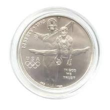 US Commemorative Dollar Uncirculated 1995-D Gymnast #76014v1