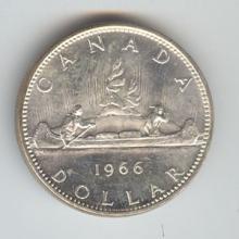 Canada 1965-1966 silver dollar #76262v1