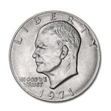 Eisenhower Dollar 1971 BU #76132v1