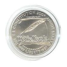 US Commemorative Dollar Uncirculated 1987-P Constitutio #76029v1