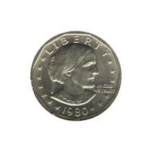 Susan B Anthony Dollar 1980-P BU #76171v1
