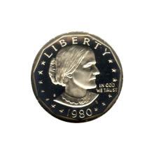 Susan B Anthony Dollar 1980-S Proof #76173v1