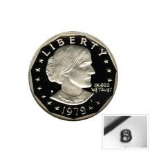 Susan B Anthony Dollar 1979-S Proof Type 1 #76168v1