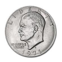 Eisenhower Dollar 1971-D BU #76133v1