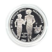 US Commemorative Dollar Proof 1995-P Blind Runner #75983v1