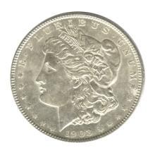 Morgan Silver Dollar Uncirculated 1903 #76089v1