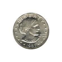 Susan B Anthony Dollar 1981-D BU #76174v1