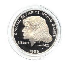 US Commemorative Dollar Proof 1995-P Special Olympics #75982v1