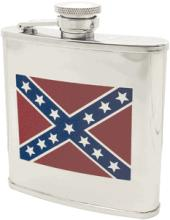 CONFEDERATE FLAG HIP FLASK #27269v2