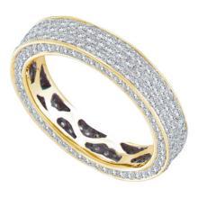 14K Yellow-gold 1.14CTW DIAMOND ETERNITY BAND #57512v2