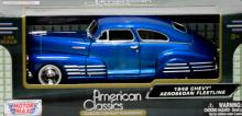COLLECTIBLE 1958 OCEAN BLUE CHEVY AEROSEDAN FLEET LINE  #56612v1