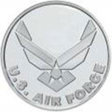 US Air Force .999 Silver 1 oz Round #27442v2