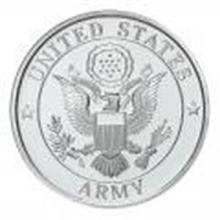 US Army .999 Silver 1 oz Round #27445v2