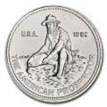 Silver Bullion 1 oz Engelhard Prospector Silver Round #27513v2