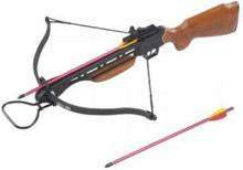 150LBS WOODEN HUNTING CROSSBOW COMES W/2 ARROWS #39686v2