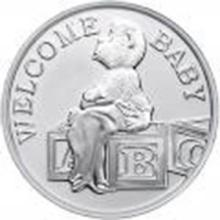 Welcome Baby 2015 .999 Silver 1 oz Round #27438v2
