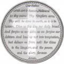 Lords Prayer .999 Silver 1 oz Round #27447v2