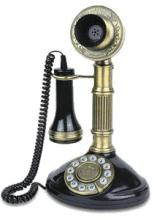 1897 PHONE ROMAN CANDLESTICK REPRODUCTION #28934v2