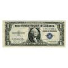 1935G $1 Silver Certificate UNC #27416v2