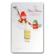 1/2 gram Gold Bar - Istanbul Gold Refinery (Holiday Ass #10135v1
