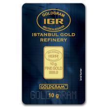 10 gram Gold Bar - Istanbul Gold Refinery (In Assay) #10126v1