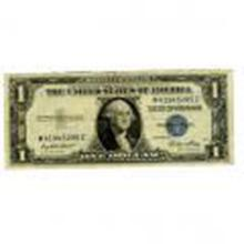 Silver Certificate $1 Note 1935-57 VG-VF #27414v2