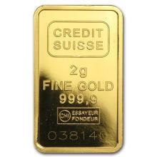 2 gram Gold Bar - Secondary Market #10114v1