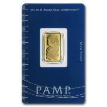 5 gram Gold Bar - Pamp Suisse Lady Fortuna (In Assay) #10109v1