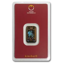 5 gram Gold Bar - Austrian Mint (KineBar Design, In Ass #10128v1