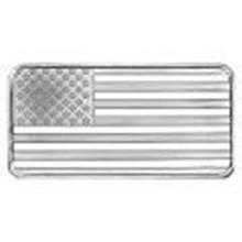 SilverTowne 10 oz Silver Bar - Flag Design #27478v2