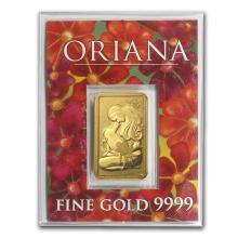 5 gram Gold Bar - Perth Mint (Oriana, In Assay) #10136v1
