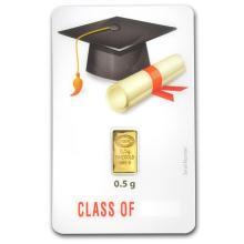 1/2 gram Gold Bar - Istanbul Gold Refinery (Graduation  #10131v1