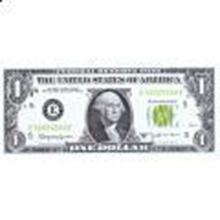 1963B $1 Barr note, UNC #27423v2