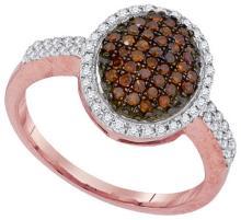 10KT Rose Gold 0.45CTW DIAMOND FASHION RING #68159v2