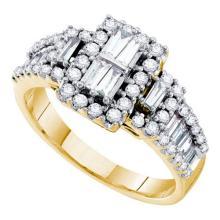 14KT Yellow Gold 1.00CTW DIAMOND FASHION RING #57548v2