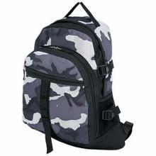 Extreme Pak Black and Gray Urban Camouflage Backpack #48619v2