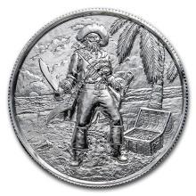 2 oz Silver Round - The Captain #52594v3