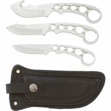 Maxam 4pc Field Dress Knife Set #49558v2