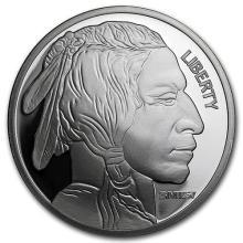 1 oz Silver Round - Buffalo (Sunshine Mint) #52556v3