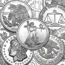 1 oz Silver Round - Secondary Market 1 PEICE PER LOT #52548v3