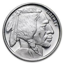 1/10 oz Silver Round - Buffalo #52557v3
