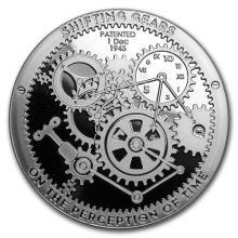 1 oz Silver Round - Shifting Gears #52597v3