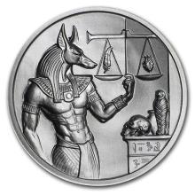 2 oz Silver Round - Anubis #52598v3