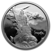 1 oz Silver Proof Round - Frank Frazetta (Silver Warrior) #52602v3