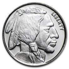1/4 oz Silver Round - Buffalo #52560v3