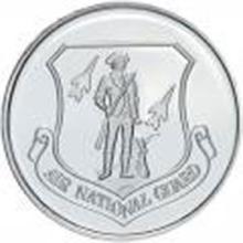 US Air National Guard .999 Silver 1 oz Round #27457v2